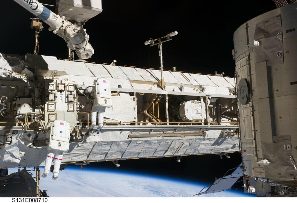 NASA OPENS ITS SPACE STATION FOR COMMERCIAL AND BUSINESS USE