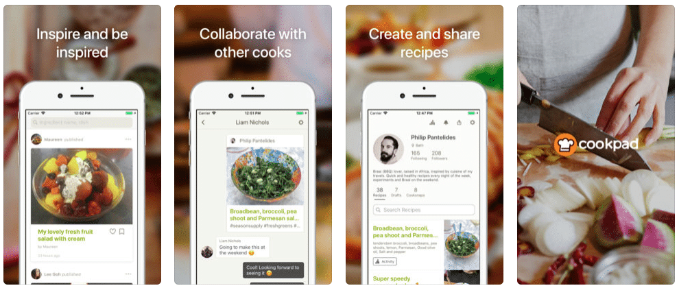 Cookpad - android application
