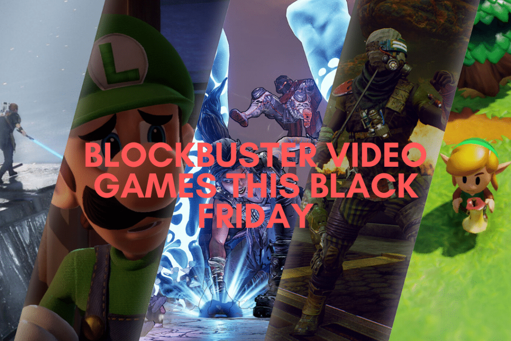 Blockbuster video games to get this Black Friday